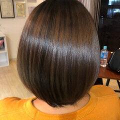 髪質改善 美髪 ショート トリートメント ヘアスタイルや髪型の写真・画像