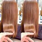 インナーカラー ブリーチカラー ブリーチオンカラー 艶髪