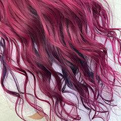 派手髪 ブリーチカラー ストリート 個性的 ヘアスタイルや髪型の写真・画像