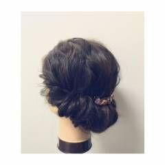 ショート 簡単ヘアアレンジ ストリート ミディアム ヘアスタイルや髪型の写真・画像