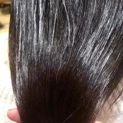 ロング ツヤ髪 ナチュラル 透明感カラー ヘアスタイルや髪型の写真・画像