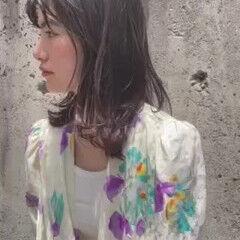 パーマ 無造作パーマ ニュアンスウルフ ゆるふわパーマ ヘアスタイルや髪型の写真・画像