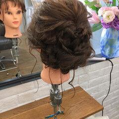ナチュラル 謝恩会 ヘアアレンジ 結婚式 ヘアスタイルや髪型の写真・画像