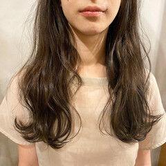 透明感カラー お洒落 くすみカラー 透明感 ヘアスタイルや髪型の写真・画像