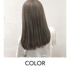 ハイトーンカラー ミディアム ブロンドカラー 原宿 ヘアスタイルや髪型の写真・画像