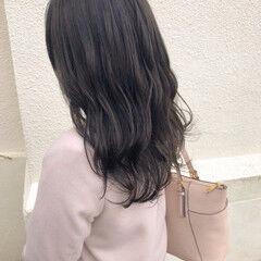 セミロング ナチュラル ミディアムレイヤー 地毛風カラー ヘアスタイルや髪型の写真・画像