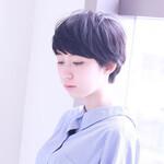 ショート 黒髪 ナチュラル ピュア