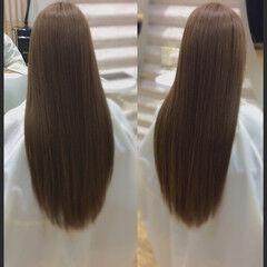 髪質改善カラー 髪質改善 ロングヘアスタイル 髪質改善トリートメント ヘアスタイルや髪型の写真・画像