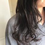 ナチュラル 暗髪 ロング 艶髪