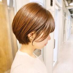 ショートヘア オフィス ショート デート ヘアスタイルや髪型の写真・画像