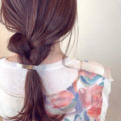 ヘアアレンジ ナチュラル可愛い ロング 大人可愛い ヘアスタイルや髪型の写真・画像