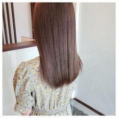 ブリーチオンカラー ハイトーンカラー ブリーチ ロング ヘアスタイルや髪型の写真・画像