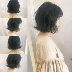オルチャン 渋谷系 大人かわいい ナチュラル ヘアスタイルや髪型の写真・画像