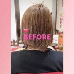 ロング ウェーブ フェミニン 夏 ヘアスタイルや髪型の写真・画像