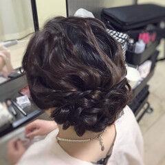 パーティヘア ロング 結婚式 ヘアアレンジ ヘアスタイルや髪型の写真・画像
