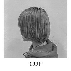 スタイリング 似合わせカット ボブ ショートカット ヘアスタイルや髪型の写真・画像