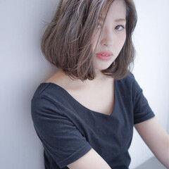 夏 ボブ 色気 春 ヘアスタイルや髪型の写真・画像