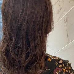 イルミナカラー ナチュラル 髪質改善カラー 3Dハイライト ヘアスタイルや髪型の写真・画像