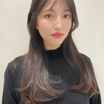 韓国ヘア 艶髪 ナチュラル 韓国風ヘアー