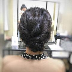 大人可愛い お呼ばれヘア ヘアアレンジ フェミニン ヘアスタイルや髪型の写真・画像