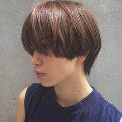 外国人風 ショート 大人かわいい モード ヘアスタイルや髪型の写真・画像
