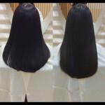 ナチュラル ロング 髪質改善トリートメント 髪質改善
