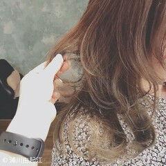 エレガント 大人かわいい アンニュイほつれヘア デート ヘアスタイルや髪型の写真・画像
