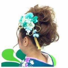 ヘアアレンジ 卵型 アップスタイル ナチュラル ヘアスタイルや髪型の写真・画像