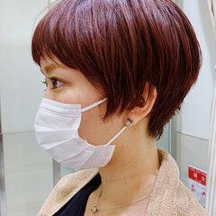 ショート ショートヘア 似合わせカット PEEK-A-BOO ヘアスタイルや髪型の写真・画像