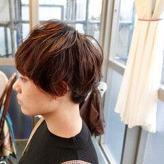 ベリーショート ボブ ショートヘア マッシュショート ヘアスタイルや髪型の写真・画像