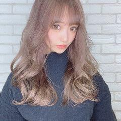 モデル コンサバ モテ髪 ロング ヘアスタイルや髪型の写真・画像