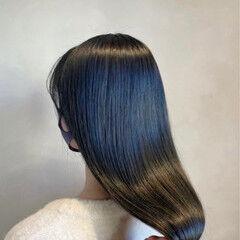 オシャレ ロング セクシー エレガント ヘアスタイルや髪型の写真・画像