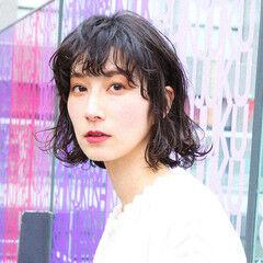 PEEK-A-BOO 阿藤俊也 ワンレングス ボブ ヘアスタイルや髪型の写真・画像