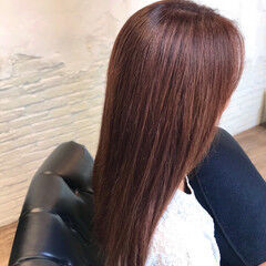 コンサバ ピンク ピンクブラウン ピンクバイオレット ヘアスタイルや髪型の写真・画像
