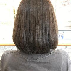 髪質改善 ナチュラル ローライト ボブ ヘアスタイルや髪型の写真・画像
