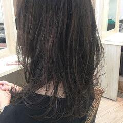 フェミニン グレージュ 女子力 オフィス ヘアスタイルや髪型の写真・画像