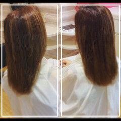 ナチュラル 社会人 社会人の味方 髪質改善トリートメント ヘアスタイルや髪型の写真・画像
