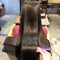 ナチュラル サイエンスアクア 髪質改善 クリスマス ヘアスタイルや髪型の写真・画像