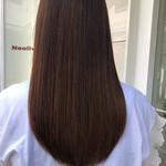 髪質改善安達瞭 髪質改善トリートメント ロング ナチュラル
