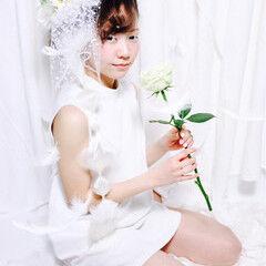 ヘアアレンジ ロング プリンセス ヘアスタイルや髪型の写真・画像
