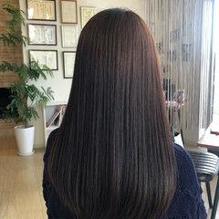 美髪 名古屋市守山区 ナチュラル ロング ヘアスタイルや髪型の写真・画像