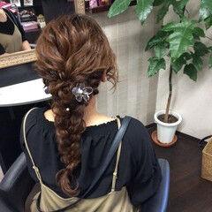 ふわふわヘアアレンジ ヘアアレンジ 簡単ヘアアレンジ ロング ヘアスタイルや髪型の写真・画像