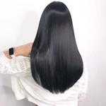 髪質改善トリートメント ダークアッシュ 透明感カラー 髪質改善