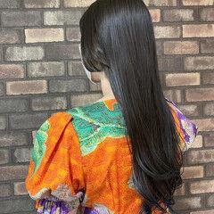 イルミナカラー ブルー ネオウルフ ウルフカット ヘアスタイルや髪型の写真・画像