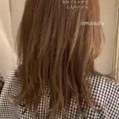 外国人風カラー グラデーションカラー エレガント デートヘア ヘアスタイルや髪型の写真・画像