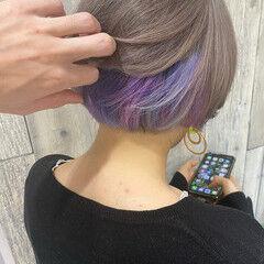 透明感カラー ダブルカラー フェミニン 外国人風 ヘアスタイルや髪型の写真・画像