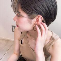 アンニュイほつれヘア ナチュラル インナーカラー ハイライト ヘアスタイルや髪型の写真・画像
