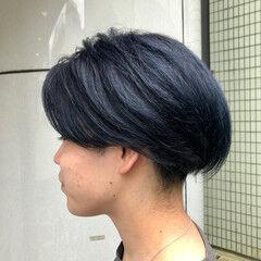 ダブルカラー ストリート メンズ ショート ヘアスタイルや髪型の写真・画像
