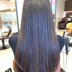 髪質改善 大人女子 ナチュラル セミロング ヘアスタイルや髪型の写真・画像