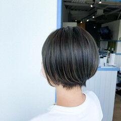 ベリーショート 透明感 ショートヘア コンサバ ヘアスタイルや髪型の写真・画像
